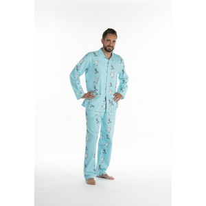Pyjama long homme Ours Manchots