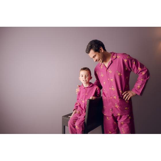 Pyjama long homme ECUREUIL
