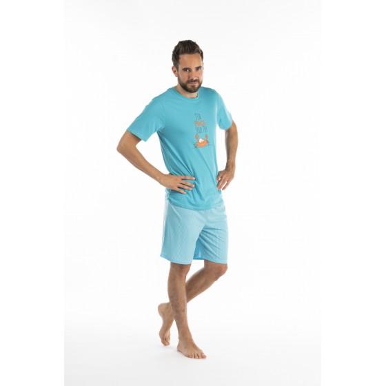 Pyjashort voor heren in jersey De KRAB