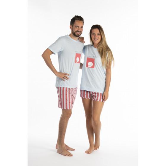 Pyjashort voor vrouwen in jersey SILENCE