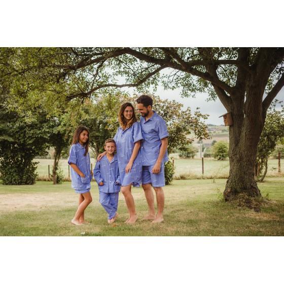 Korte zomerpyjama voor kinderen VUURVLIEGJES