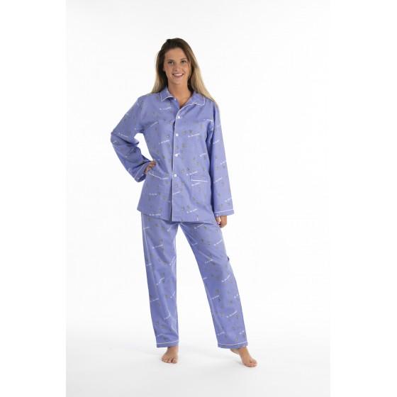 Lange katoenen pyjama voor dames VUURVLIEGJES