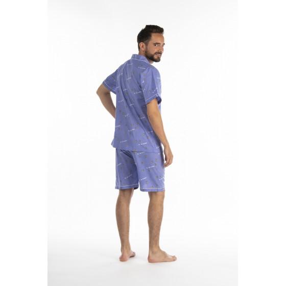 Pyjashort voor heren VUURVLIEGJES