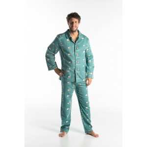 Pyjama long homme MOUTONS