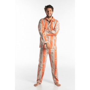 Pyjama long homme HERISSON