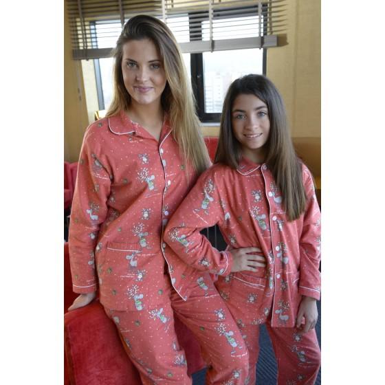 Nachthemd voor meisjes Kerst