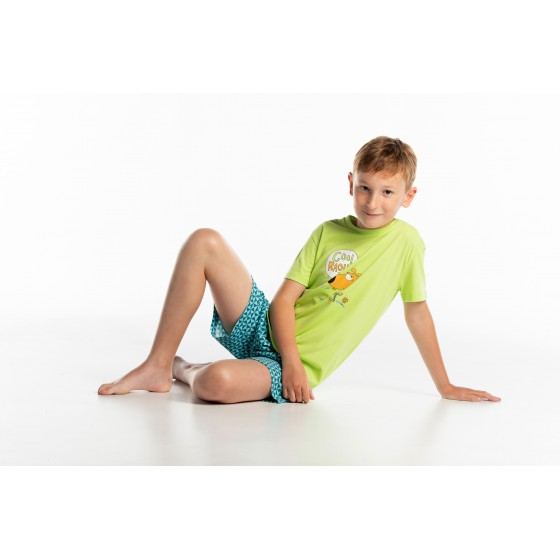 Pyjashort voor kinderen in jersey COOL RAOUL