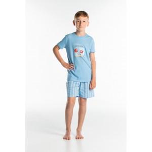 Korte pyjama voor kinderen Vissen
