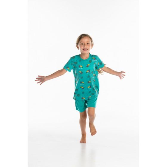 Korte pyjama voor kinderen TOEKAAN