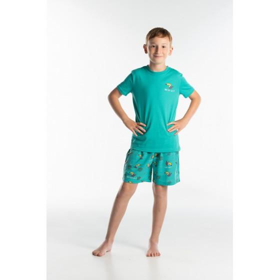 PYJAMA enfant court Toucan vert