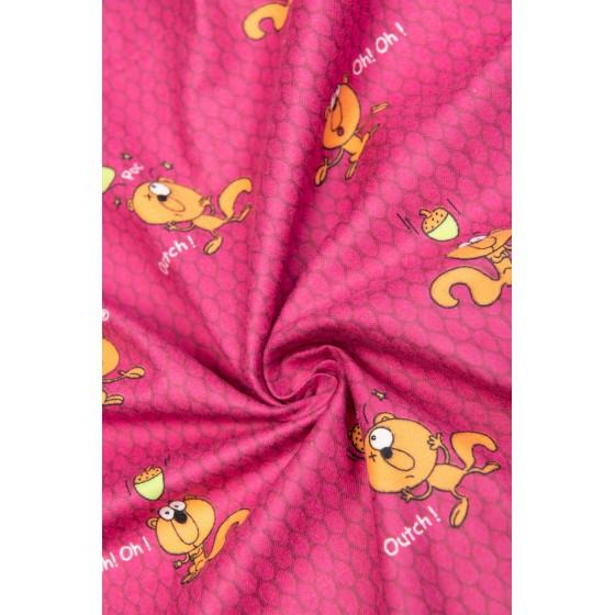 Lange flanellen pyjama voor kinderen EEKHOORN