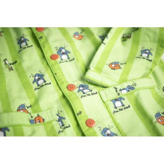 WINTERPYJAMA in flannel voor heren PINGOUIN