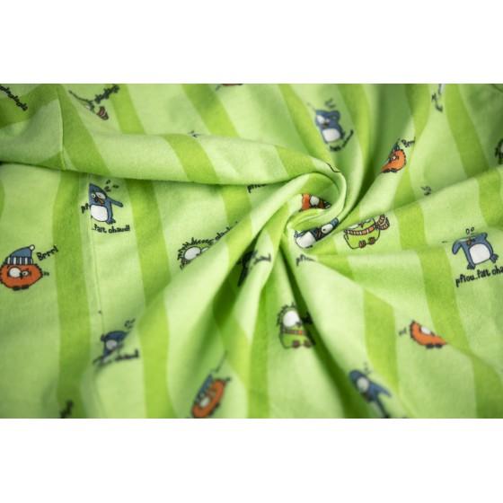 WINTERPYJAMA in flannel voor vrouwen PINGOUIN
