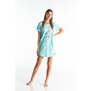 Chemise de nuit femme CHAT VA?