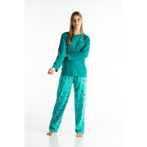 Lange pyjama voor dames TOEKAAN