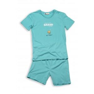 Pyjashort voor mannen TIGRE DU BENGALE