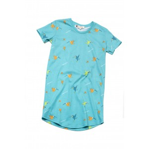 Maxi t-shirt femme colibri