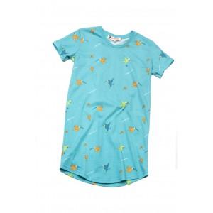 Maxi t-shirt voor vrouwen KOLIBRIE