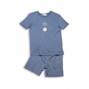 Pyjashort voor vrouwen HIBOU. CHUT !
