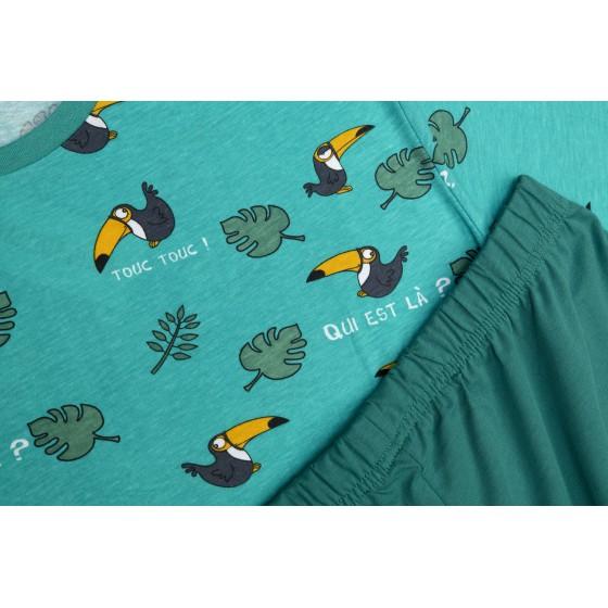 Pyjashort voor dames Toekaan
