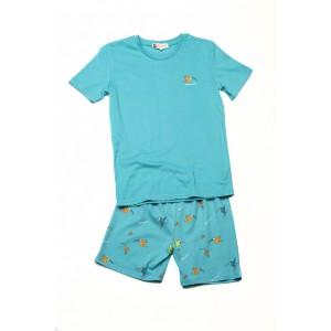 Pyjashort voor mannen COLIBRI BLEU