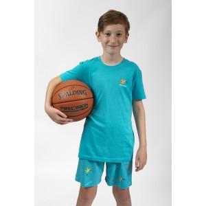 Pyjashort voor kinderen COLIBRI BLEU