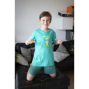 Pyjashort voor meisjes en jongens RELAX MAX