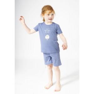 Pyjashort voor jongens en meisjes HIBOU. CHUT !