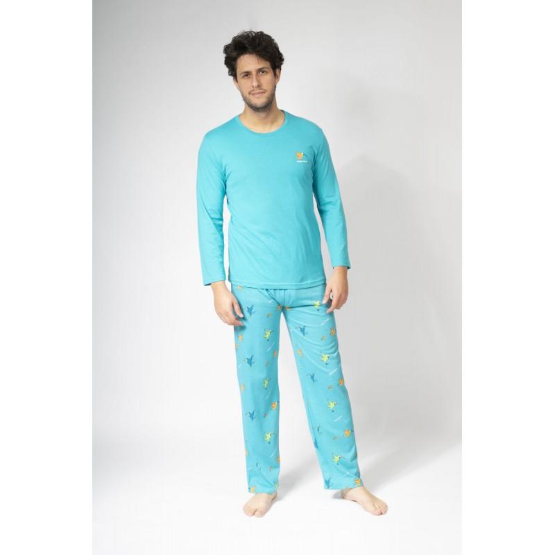 Lange zomerpyjama voor heren COLIBRI
