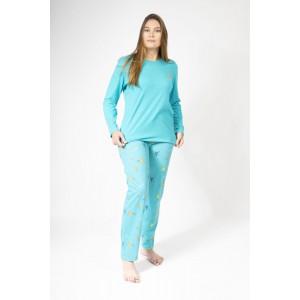 Lange zomerpyjama voor vrouwen COLIBRI