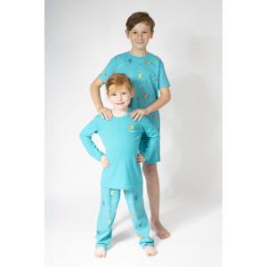 Lange zomerpyjama voor jongens en meisjes COLIBRI