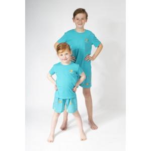 Pyjashort voor jongens en meisjes COLIBRI BLEU