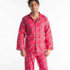 WINTERPYJAMA in flannel voor heren VACHE