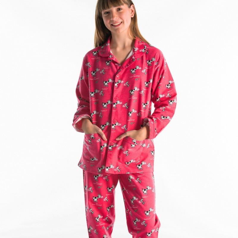 PYJAMA in flannel voor kinderen VACHE