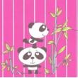 PYJAMA FEMME Flanelle 'Panda'