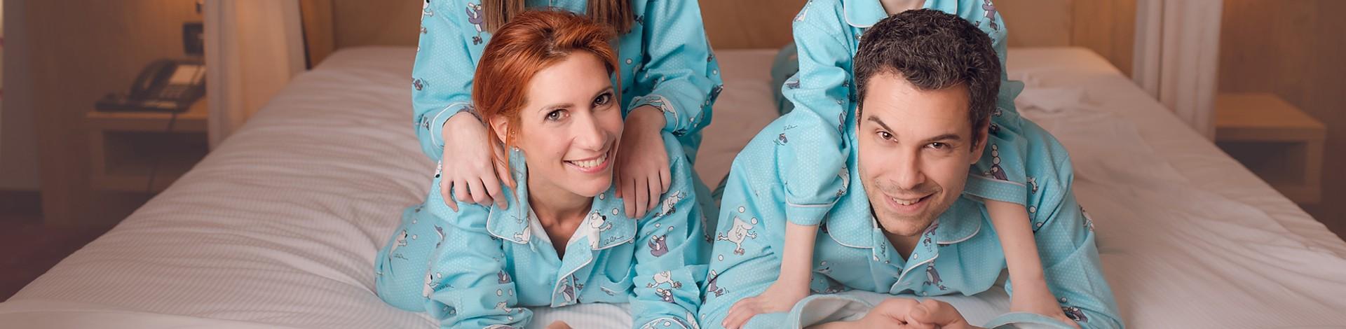 Lange pyjama